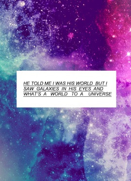 Galaxy I Love You Quotes. QuotesGram