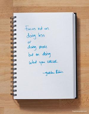 gretchen rubin quote