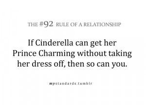 ... her prince charming without taking her dress off , then so can you