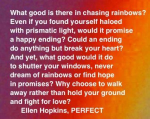 The Ellen Hopkins Quote of the Day is from PERFECT