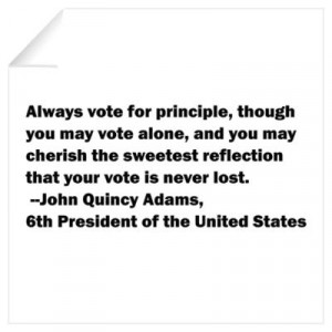 ... > Wall Art > Wall Decals > John Quincy Adams Quote Wall Decal