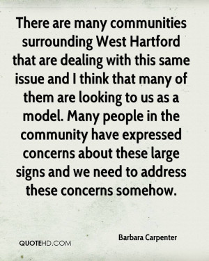 There are many communities surrounding West Hartford that are dealing ...