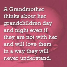 Sad when you can't see your grandchild as much as you want when there ...