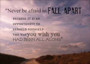 falling apart...