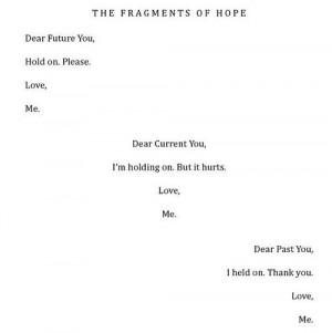 Iain Thomas, I Wrote This For You // I love this