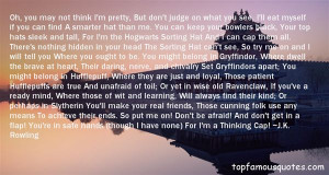 Top Quotes About Sorting Hat