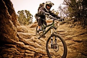 In the same breath, i've tried mountain bikes, and they never really ...