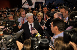 Newt Gingrich's big, slobbering mutual love affair with the elite ...