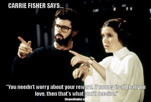 What's your favorite quote from Princess Leia? Do you have a favorite ...
