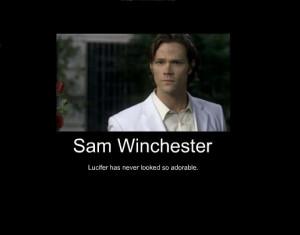 Supernatural Sam/Lusifer