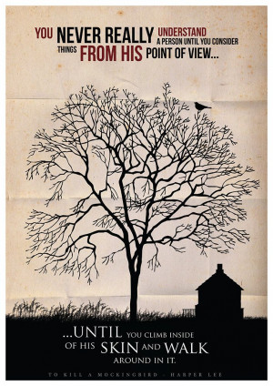 To Kill a Mockingbird Literature Poster Typographic by Redpostbox, £8 ...