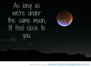 Romantic Full Moon Quotes Romantic moon .