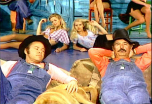 Hee Haw Honeys Gunilla Hutton and Misty Rowe Magnet