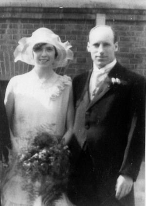 1930 eric liddell and florence mackenzie as best man and bridesmaid at ...