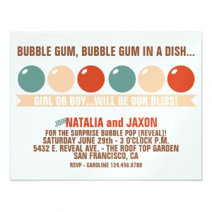 bubble_gum_bubble_gum_gender_reveal_invitation ...