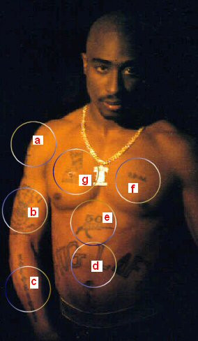 Tupac Shakur Tattoos Tattoo Gun Artwork Picture picture