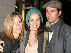Raine Maida and wife, Chantal Kreviazuk
