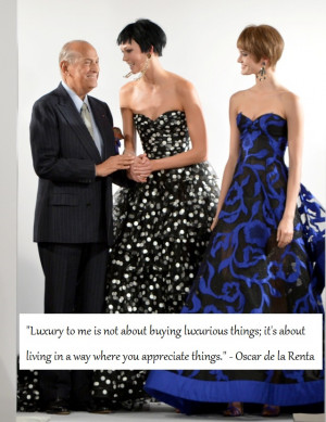Inspiring Oscar De La Renta Quotes To Live Your Life By
