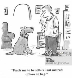 self-reliance cartoons, self-reliance cartoon, funny, self-reliance ...