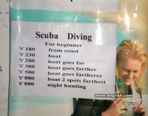 funny scuba diving quotes