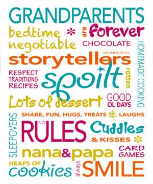 Grandparents Nanna Poppa Grandpa Grandma Poems Verses