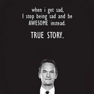 barney, how i met your mother, quote, sad, stop