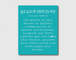 Popular items for grandmother quotes