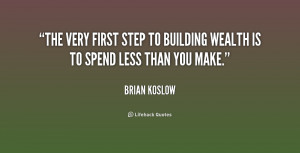 BUILDING WEALTH QUOTES