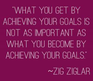 Goals Quotes...