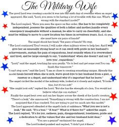 ... military military support military wife military poems military life 2