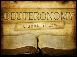 Deuteronomy in the Old Testament
