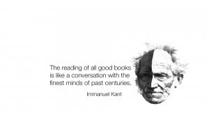 Immanuel Kant quote wallpaper