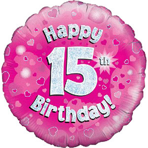 Happy 15th Birthday Girl - only £12.99