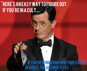 things Stephen Colbert said better than anyone else