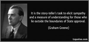 ... those who lie outside the boundaries of State approval. - Graham