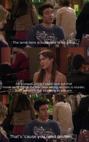... Know When To Shut Up In Sad How I Met Your Mother Picture Quote