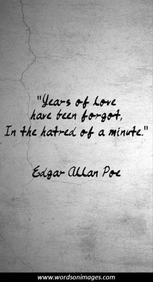 Love quotes edgar allan poe