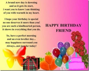 Happy Birthday Quotes for Best Friends Wishes