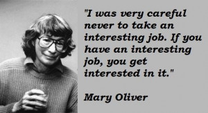 Mary oliver quotes 5