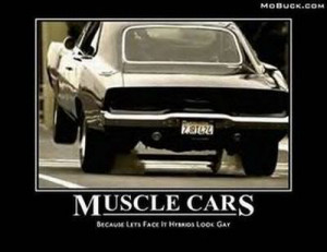 funny muscle car sayings