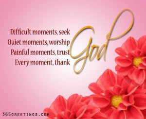 Thank You God Give Every Moment Graphic