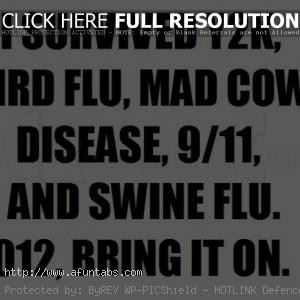 Funny Quotes About Flu