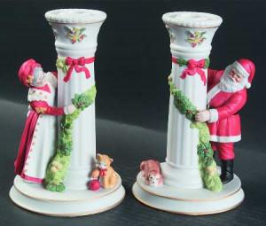 Christmas Candlesticks