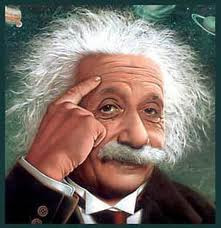 Here are some famous quotes by Einstein :