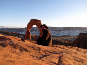 Desert Solitaire at Delicate Arch