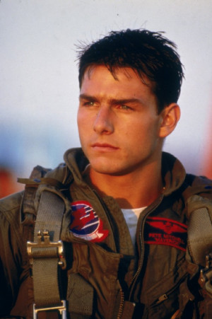 ... rights reserved titles top gun names tom cruise still of tom cruise in