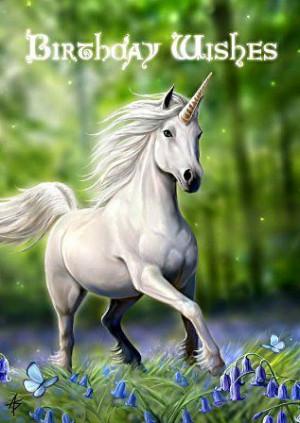 my sweet heart unicorn - unicorns Fan Art