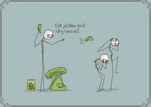 Related Pictures cartoon fickle pickle joke in a kawaii style
