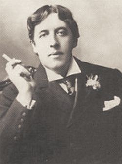 Oscar Wilde (1854 - 1900), the Irish dramatist, novelist and poet, who ...