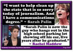 - Rachel Maddow - quote - journalism - degree - graduation. Rachel ...